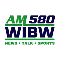 Logo of radio station WIBW