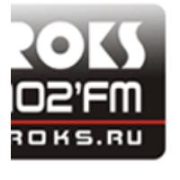 Logo of radio station Radio Roks 102 FM