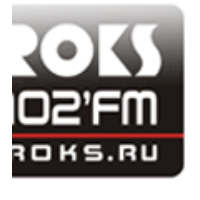 Logo of radio station Radio Roks 102 FM