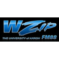 Logo of radio station WZIP University of Akron 88.1 FM