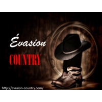 Logo of radio station Evasion Country