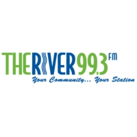 Logo of radio station The River 99.3