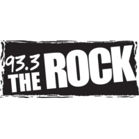 Logo of radio station 93.3 The ROCK