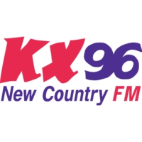 Logo of radio station KX96 FM