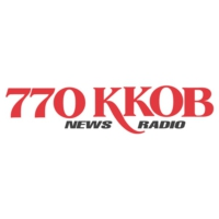 Logo of radio station KKOB 770 AM