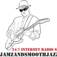 Logo of radio station SlowJamZandSmoothJazZ