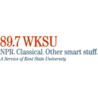 Logo of radio station WKSU