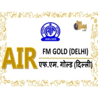 Logo of radio station AIR FM Gold