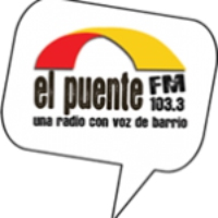 Logo of radio station El Puente FM
