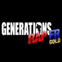 Logo of radio station Générations Rap FR Gold