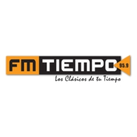 Logo of radio station FM Tiempo