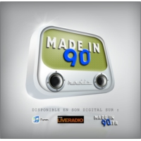 Logo de la radio Made in 90