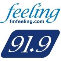 Logo de la radio Feeling FM 91.9