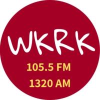 Logo of radio station WKRK 105.5 FM 1320 AM