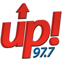 Logo of radio station UP 97.7