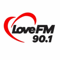 Logo of radio station XHUA Love FM 90.1