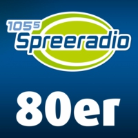 Logo of radio station 105'5 Spreeradio 80er