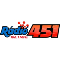 Logo of radio station Rádió 451