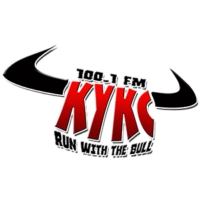 Logo of radio station 100.1 FM KYKC
