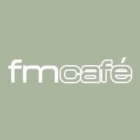 Logo of radio station FM Café