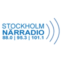Logo of radio station Stockholm närradio 95.3
