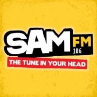 Logo of radio station Sam FM