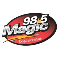 Logo of radio station WGIC Magic 98.5