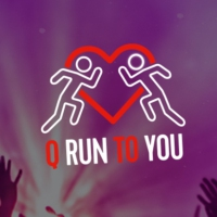 Logo of radio station Q-Run To You