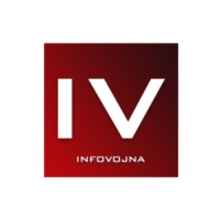 Logo of radio station InfoVojna