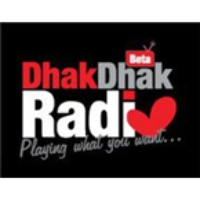 Logo of radio station Dhak Dhak Radio