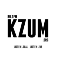 Logo of radio station KZUM 89.3 FM