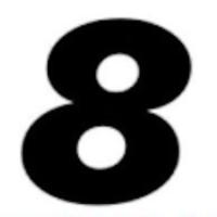 Logo of radio station Super 8
