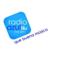 Logo de la radio Azul 104.3 FM