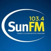 Logo of radio station 103.4 Sun FM