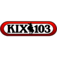 Logo of radio station KIXB Kix 103
