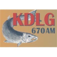 Logo of radio station KDLG 670 AM