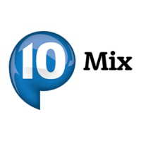 Logo of radio station P10 Mix