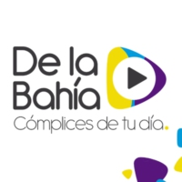 Logo of radio station De La Bahia Noticias