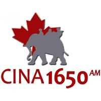 Logo of radio station CINA
