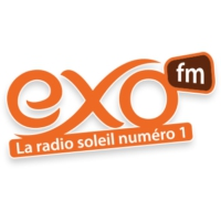 Logo of radio station EXO FM