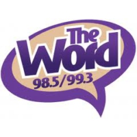 Logo of radio station KLGO The Word