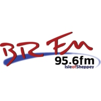 Logo of radio station BRFM 95.6 FM