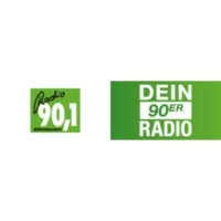 Logo of radio station Radio 90.1 – Dein 90er Radio