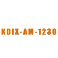 Logo of radio station KDIX AM 1230