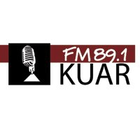 Logo of radio station KUAR NPR 89 FM