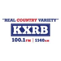 Logo of radio station KXRB Sioux Falls