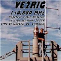 Logo de la radio VE2RIG 146.880
