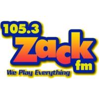 Logo of radio station 105.3 Zack FM