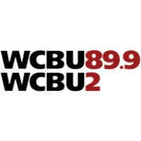 Logo of radio station WCBU NPR 89.9 FM