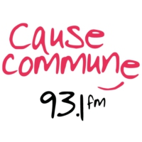 Logo de la radio Cause Commune 93.1 FM